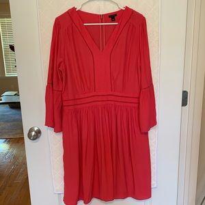 Ann Taylor Bell Sleeve Dress: Size 12